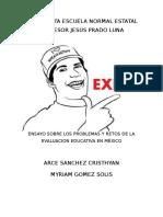 Ensayo Arce