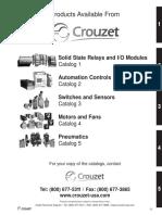 Crouzet Catalog Switches