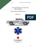 Comunicaciones en Caso de Desastres