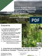 Presentación Control Político sobre la reserva Thomas Van Der Hammen