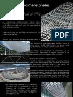 Estructuras tridimensionales