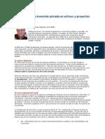Promoción de La Inversión Privada en Activos y Proyectos Del Estado - Alejandro León