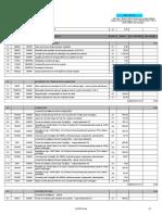 Planilha Orçamentária 06 Salas 110V