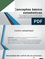Conceptos básico estadísticos