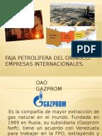 Empresas de La Faja Petrolífera Del Orinoco