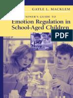 Emotion Regulation in Children