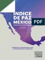 Índice de Paz México 2016