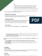 ECONOMÍA DE LA EMPRESA - La empresa, tipos de mercado y elasticidad