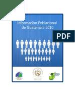 datos poblacionales de Guatemala