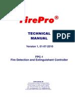 FirePro Technical Manual FPC-1 2010 Rev 1 01 07 10