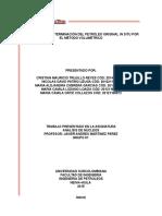 Informe Final. Practica No 1 Analisis de Nucleos
