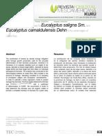 Articulo Estimación de Biomasa en Eucaliptus en La Región Central de Costa Rica