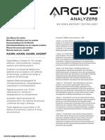 Argus_tester Manual Aa500p