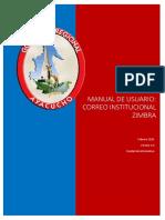Manual Zimbra 2015