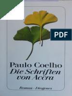 Paulo Coelho - Die Schriften Von Accra PDF
