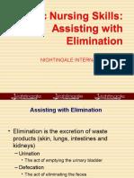 O. Elimination & Specimen Collection