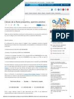Cálculo de La Renta Presuntiva, Ejercicio Práctico - Comunidad Contable