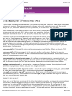 Como fazer print screens no Mac OS X | Guilherme Chapiewski