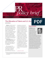 The Allocation of Talent and US Growth