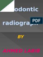 Endodontic Radiograph
