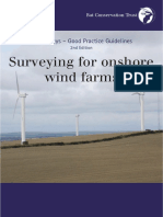 Surveying for Onshore Wind Farms BCT Bat Surveys Good Practice Guidelines 2nd Ed