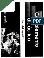 Complemento Didactico (MAESTRO)
