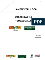 Plan Ambiental Local Bogota