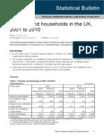 Family Household Bulletin