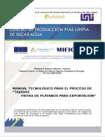 121015 Manual Tecnológico Para El Proceso de Tajadas