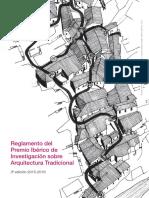 Premio Ibérico de Investigación sobre Arquitectura Tradicional