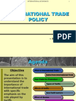 International Trade Policy