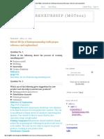 Entrepreneurship (MGT602)_ Solved MCQs.pdf