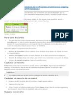 Recortes Para Windows 8