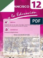 12. Francisco y la Educación