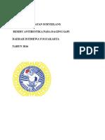 Proposal Kegiatan Surveilans Residu