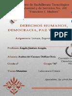 Andrea del Carmen Delfino Ortiz. 2°A