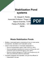 Waste Stabilization Ponds
