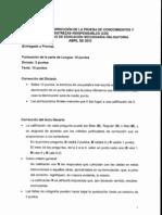 CDI Prueba 2010 Respuestas