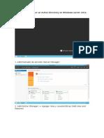 Manual de Instalar Un Active Directory en Windows Server 2012