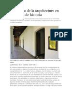La Arquitectura en 200 Años de Historia. Paraguay