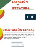 Dilatación de Cuerpos