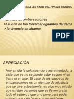 Tópicos de La Obra «El Faro Del
