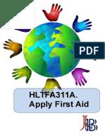 HLTFA311A Apply first aid.doc
