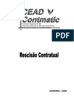 Contabilidade - RH - Rescisão Contratual