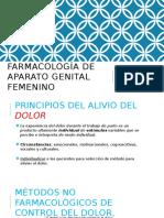 Farmacología del Aparato Genital Femenino