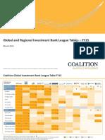 Coalition - Jak na tom v roce 2015 byly investiční banky