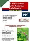 Plantasi 2016 Facultad de Agrobiología UATX