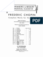 Chopin Nocturnes Schirmer Mikuli Op 9