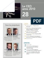 FORWARD, le magazine de la FEB, mai 2010, Le sommaire