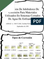Inhibidores de Corrosion Utj